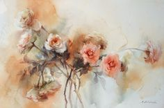Watercolor by Phatcharaphan Chanthep
