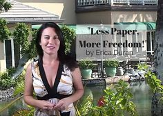 """Less Paper, More Freedom"" by Erica Duran"