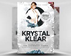 Krystal-Klear-PSD-Flyer-Template-1