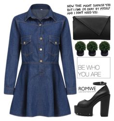 """""""Romwe 4"""" by scarlett-morwenna ❤ liked on Polyvore featuring Lux-Art Silks, modern and vintage"""