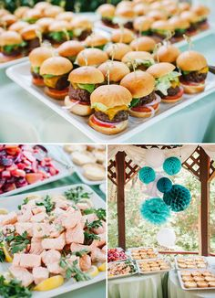 Food Menu Wedding Shower Ideas | Read more: http://simpleweddingstuff.blogspot.co.id/2017/02/bridal-shower-basics.html#.WKDb1FV96Hs