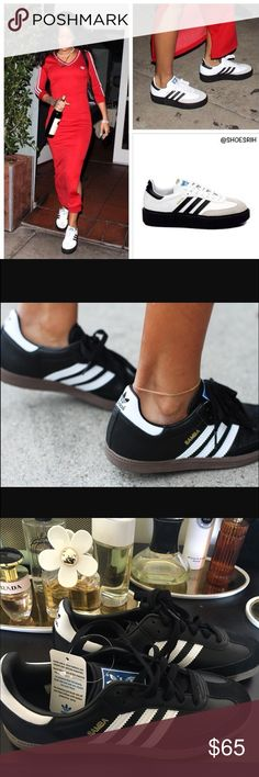 ADIDAS SAMBA CLASSICS NEW NEVER WORN!! Adidas Classic Superstar Sneaker! You're always in style with this chic shoe. Offers are welcomed!!😚 Adidas Shoes Sneakers
