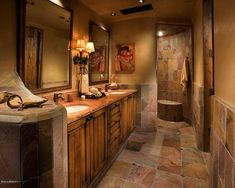 Walk in shower totally gorgeous!!!