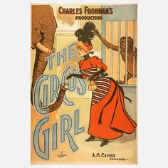 Fab.com   The Circus Girl 18x24