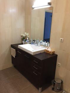 """Marmorin Dallas700 mosdó  Akik a Marmorin-t választották:   ,,Nagyon szeretjük a mosdót, meghatározta a fürdőszobánk arculatát és formavilágát! - Natasa """"  Hogyha szerintetek is jól néz ki Natasa fürdőszobája, nyugodtan nyomjatok egy lájkot!   Nézzétek meg további nagyszerű mosdóinkat megújult weboldalunkon, és válaszd ki azt amelyik a legjobban mutatna a te fürdőszobádban!  www.marmorin.hu Dallas, Vanity, Bathroom, Dressing Tables, Washroom, Powder Room, Vanity Set, Full Bath, Single Vanities"""