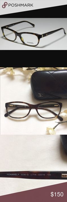 05149ac40f77 Authentic Chanel Eyeglasses With Case