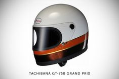Tachibana motorcycle helmet. Friends, my birthday is only a mere 9 months away. Plenty of time to save up to keep me safe AND stylish.