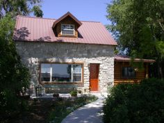 """[Newton, Utah Historic Rock House Tour, 23 July 2011, 19th century rock homes; also called """"Territorial-style""""]"""