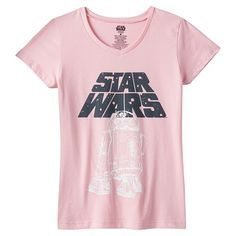 Gear her up with the fun style of this girls' Star Wars tee, featuring R2-D2. #ForceOfFamily