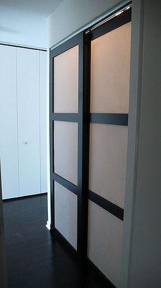 custom made sliding shoji closet doors with synskin panelsu2026 flickr