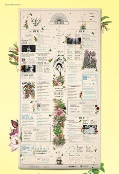 possible schedule format for GG retreat Web Design, Graphic Design Tips, Layout Design, Print Design, Editorial Design Magazine, Event Branding, Information Design, Book Layout, Print Packaging