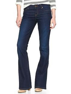 1969 perfect boot jeans | Gap Size 4R- the perfect jeans that fit me at the waist and aren't too short but don't drag on the floor.  Miraculous!