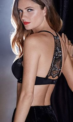 Celebrating 10 years of of Simone Perele's Andora bra. The anniversary limited edition embroidered back. Andora embodies the needs of the modern woman.