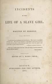 """Incidents in the Life of a Slave Girl. a slave narrative published in 1861 by Harriet Ann Jacobs, using the pen name """"Linda Brent"""". Good Books, Books To Read, African American Literature, Morrison, Memoir Writing, Frederick Douglass, Book Girl, The Life, Memoirs"""