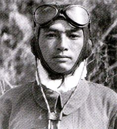 W/O Tadao Sumi, JAAF ace with 6 victories.