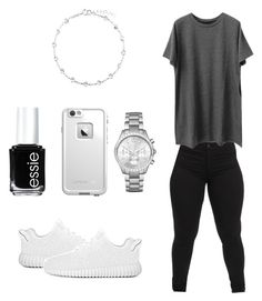 """"""""""" by carinoxcole ❤ liked on Polyvore featuring BERRICLE, Essie, LifeProof and Michael Kors"""