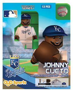 Kansas City Royals MLB OYO Sports Mini Figure: Johnny Cueto