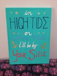 Made this for my little! I can finally post pictures of my crafts now :3 | tri sigma | sorority crafts
