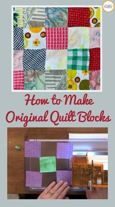 Once you learn the basics, buck trend and make your own unique quilt blocks. See how to design a quilt using freestyle piecing. Quilting Templates, Quilting Tips, Quilting Tutorials, Machine Quilting, Quilting Projects, Quilt Patterns, Sewing Projects, Sewing Hacks, Sewing Crafts