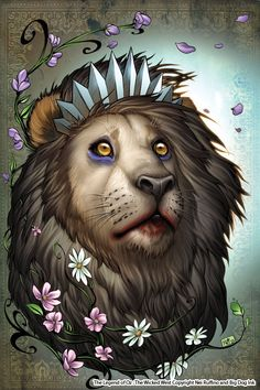 One of my favorite artists Oz 11 Cowardly Lion color by ToolKitten.deviantart.com on @deviantART