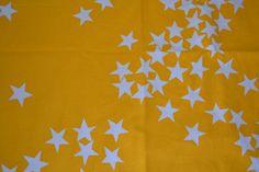 Scandinavian retro fabric  stars design Sven Fristedt Borås Ikea 70s
