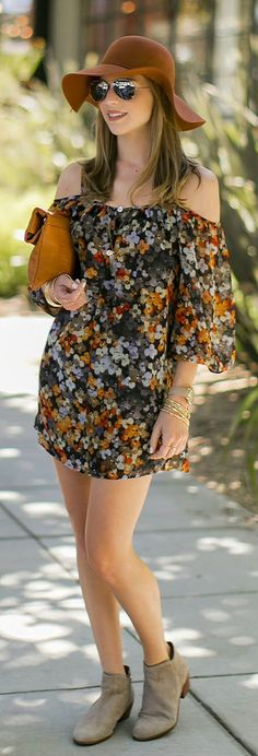 Edgy Boho MUTED FLORALS