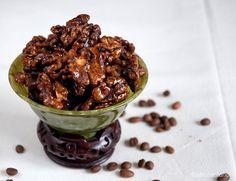 espresso glazed walnuts