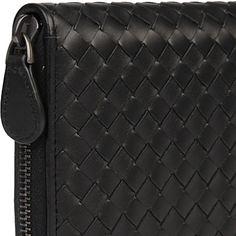 BOTTEGA VENETA Intrecciato leather wallet | selfridges.com