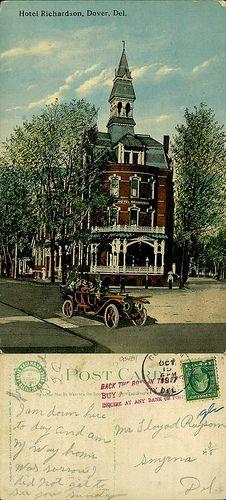 Hotel Richardson, Dover, Del. by Delaware Public Archives, via Flickr