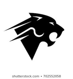 Find silhouette-cat-black stock images in HD and millions of other royalty-free stock photos, illustrations and vectors in the Shutterstock collection. Panther Logo, Tiger Logo, Cat Logo, Lettering Design, Logo Design, Firefighter Logo, Blood Tattoo, Dragon Tattoo Arm, Strong Tattoos