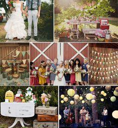 Summer picnic wedding