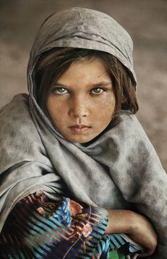 """Faces of Afghanistan"" - Steve McCurry"
