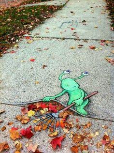 3-D Street Art