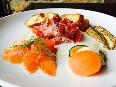 715 Restaurant - gravalax & prosciutto: a love story.