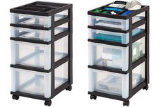 That kind of materials are the best. We need accessible plastic storage drawers at our reach for frequently accessing the essential items. Plastic Storage Drawers, Set Of Drawers, Drawer Cart, Rolling Storage Cart, Insulated Lunch Bags, Drawer Organisers, Shelves, Top, Home Decor