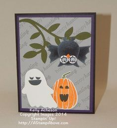 SU card by Kelly Acheson with instructions
