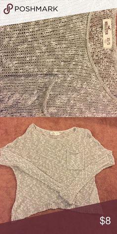 Hollister XS Sweater Hollister, Tan Sweater, XS/S Hollister Sweaters Crew & Scoop Necks