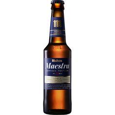 MAHOU Maestra cerveza tostada Doble Lúpulo botella 33 cl