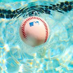 Splash!  Love this photo! Combines my two sport loves: swimming and baseball!