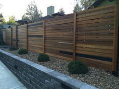 Nice example of horizontal fencing.