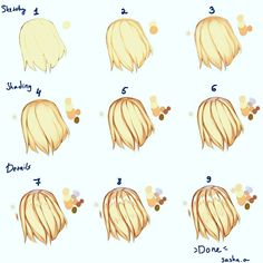 Astounding Exercises To Get Better At Drawing Ideas Drawing Techniques Hair tutorial ^^ A lot of ppl asked me to do one sooooo I hope it helped you .Drawing Techniques Hair tutorial ^^ A lot of ppl asked me to do one sooooo I hope it helped you . Drawing Techniques, Drawing Tips, Drawing Reference, Drawing Sketches, Drawings, Drawing Ideas, Digital Painting Tutorials, Digital Art Tutorial, Art Tutorials