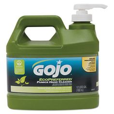 Other Bath and Body Supplies: Gojo Ecopreferred Pumice Hand Cleaner, 1 2 Gal Pump Bottle, Lime - Goj093704 -> BUY IT NOW ONLY: $58.24 on eBay!