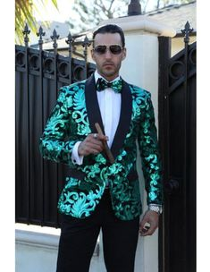 Blazer is among the most popular clothes for all ages including the elderly. In particular, middle-a Cheap Blazers, Blazers For Men, Velvet Smoking Jacket, Dope Outfits For Guys, Sparkly Outfits, Dress Suits For Men, Prom Tuxedo, Mens Clothing Styles, Men's Clothing