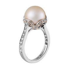 Les Elegantes Ring, pink pearl $10,500 by louis vuitton.