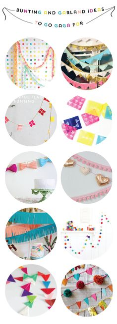 Bunting and Garland Ideas