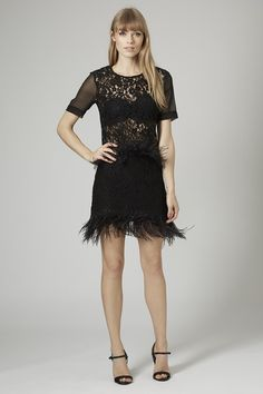 Photo 2 of Limited Edition Feather Lace Pelmet Skirt