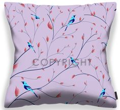 Bluebirds amongst branches of a dreamlike tree. Fabric Dining Chairs, Chair Fabric, Starter Set, Bird Patterns, Different Fabrics, Beautiful Birds, Blue Bird, Decorating Your Home, Pattern Design