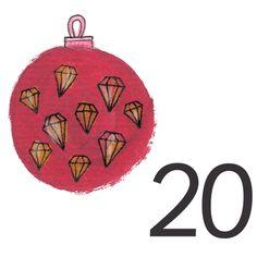 Joulukalenteri 2018 - Värinautit Christmas Bulbs, Holiday Decor, Home Decor, Christmas Light Bulbs, Decoration Home, Interior Design, Home Interior Design, Home Improvement