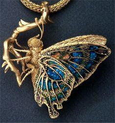 Необычные украшения от американского ювелира Джона Пола Миллера (1918-2013)