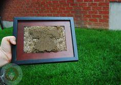 Mother's Day Craft Idea: DIY Framed Hand/footprint